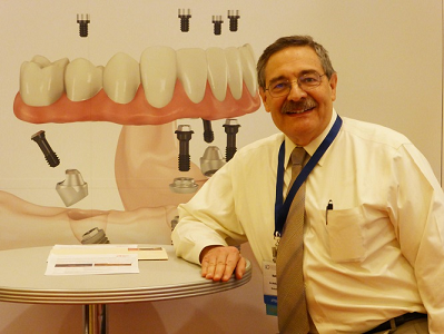 Dr. Matthew Zizmor at the American College of Prosthodontists Convention furthering his knowledge of dental implants