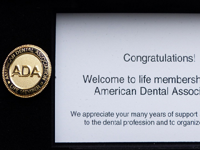 American Dental Association Pin