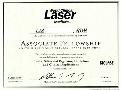 Soft tissue laser Certification